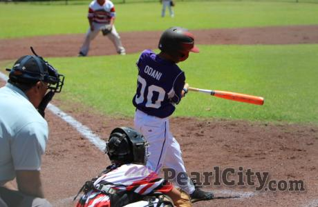 Pearl City battles on, faces Honolulu at Hawaii Little League 10-11 State Champi
