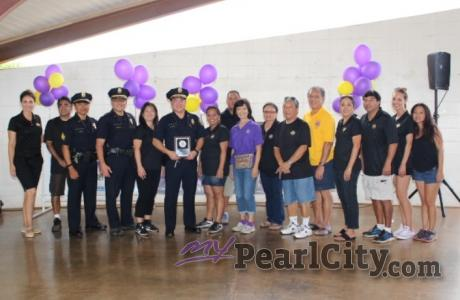 Pearl City Community Association and Pearl City Foundation honors HPD with appre