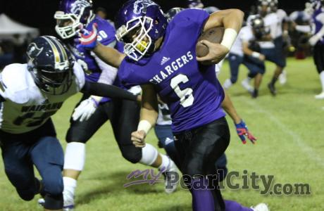 Pearl City Chargers Sports Calendar for the week of October 17 – October 22, 201