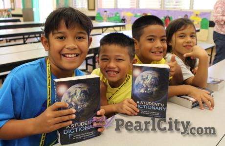 Pearlridge Rotarians complete 2016 Dictionary 5000 Project with presentation at