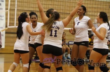 Pearl City over Nanakuli 2-1 in OIA D1 Girls Varsity Volleyball