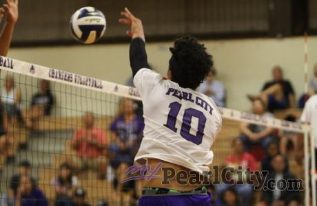 Radford sweeps Pearl City 25-18, 25-16 in OIA Boys Volleyball |