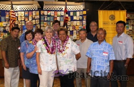 Pride and Honor at Rotary International Hawaii District 5000 Installation Ceremo