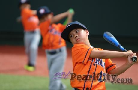 2019 Baseball in Paradise 7-8 year olds at Les Murakami Stadium