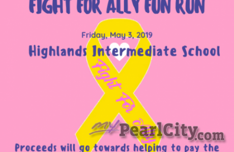 Fight For Ally Fun Run to he held on Friday, May 3 at Highlands Intermediate Sch