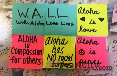 Sharing Aloha in the hearts and minds of those who battle racial injustice