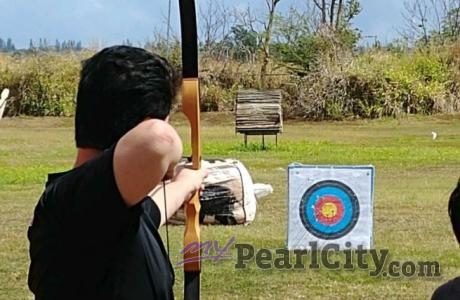 Pearl City's Blaise Barry repeat Champion at 2019 City Wide Archery Tournament |