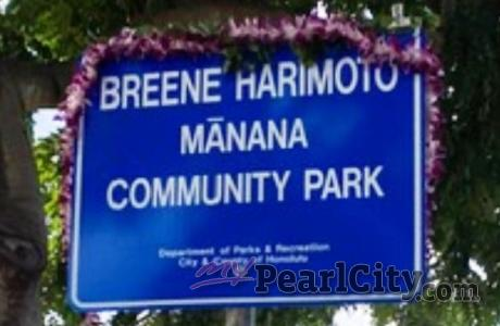 Breene Harimoto Manana Community Park dedicated in his honor