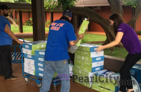 FANS FROM FANS makes final delivery of 152 donated fans to PCHS