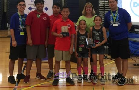 Results of Hawaiian Electric's 2020 State Elementary School VEX IQ Championships