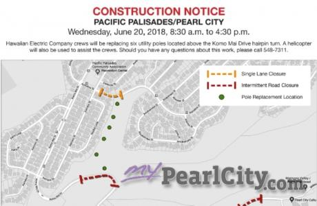 UPDATE: Palisades Outage and Upgrades, Wednesday, June 20