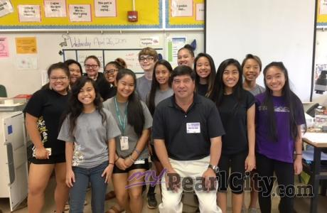 "Mahalo Highlands Intermediate ""Voice"" students for a great time!"