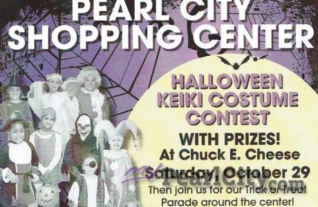 Halloween Keiki Costume Contest and Trick or Treat Parade, this Saturday, Pearl