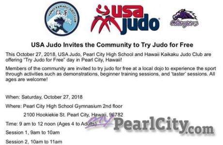 USA Judo Invites the community to Try Judo for Free