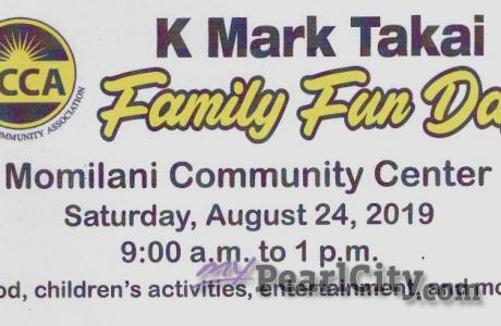 4th Annual K. Mark Takai Family Fun Day this Saturday!