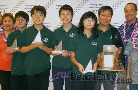 Results from Oahu Chapter MATHCOUNTS®.