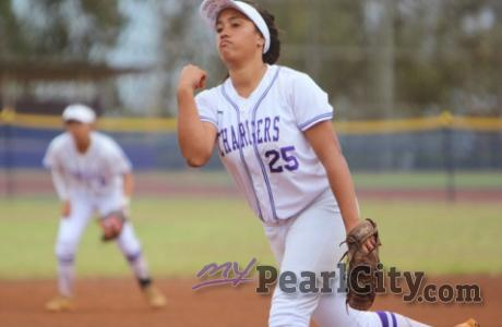 Pearl City Lady Chargers 2021 Varsity Softball Schedule | Pictured: #25 Maiyah F
