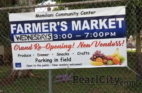 Check out the Momilani Farmers Market 'Today' from 3pm-7pm!