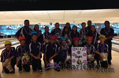 Pearl City Bowlers roll into to Kona to defend Boys & Girls state titles!