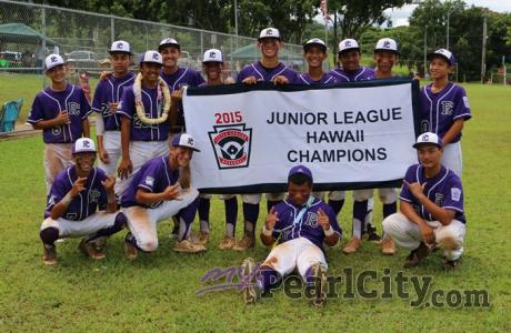 Pearl City Little League Juniors Crowned 2015 Hawaii State Champions