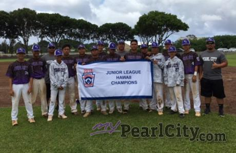Pearl City Juniors face Southern Cal for Western Regional Championship Title