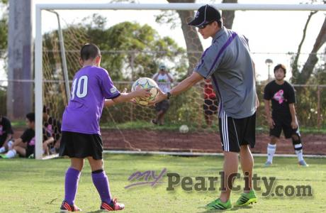 2nd Annual Pearl City AYSO Clinic, PCHS Stadium, Nov. 22