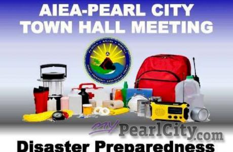 Pearl City-Aiea Town Hall Meeting - Disaster Preparedness