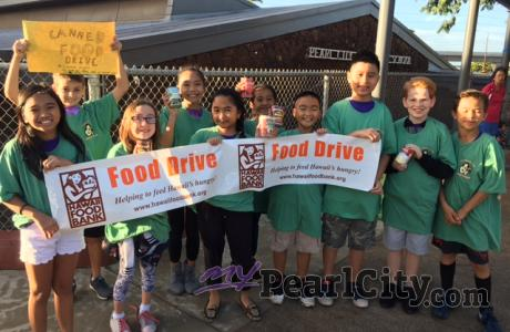 2017 Pearl City Elementary Annual Can Food Drive