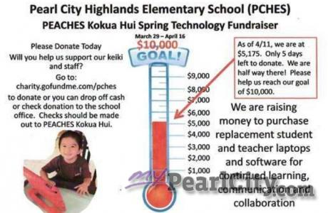 PCHES Spring Technology Fundraiser Update