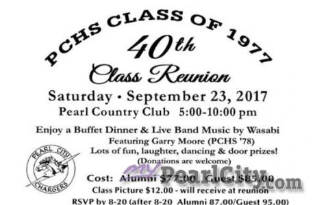 IT'S PARTY TIME PCHS CLASS OF '77!
