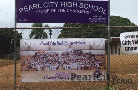 Pearl City High School serves as Hurricane Douglas Emergency Shelter