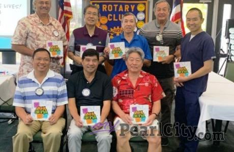 Mahalo Rotary Club of Pearlridge for the honor