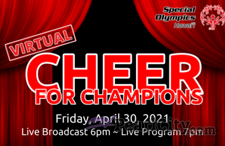 Virtual Cheer for Champions is Back! Everyone is Invited!
