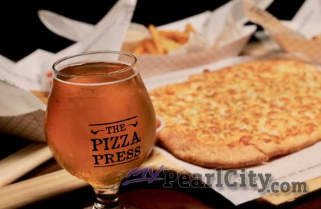 Touch Down at The Pizza Press for Great Deals for Happy Hour During Football Sea