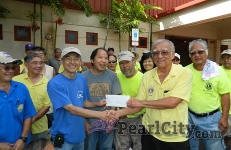 Lions Club volunteers help secure $10,000 Weinberg Foundation Grant for the PCF