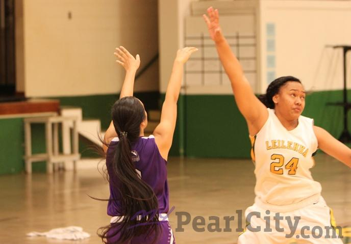 Leilehua downed Pearl City 65-33 in OIA White Division Girls