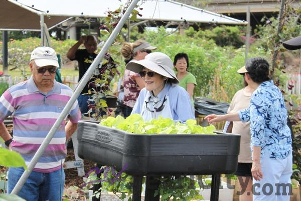 Senior Day At The Urban Garden Center In Pearl City (4/9/11