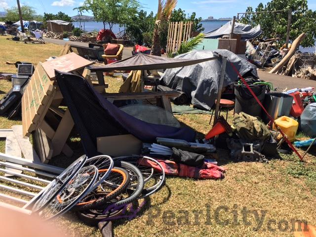 Cutter Ford Aiea >> City work crews clear-out homeless encampments along Pearl ...