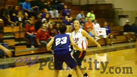 Iolani 51 Pearl City 46 in Girls State Basketball Tourney 2