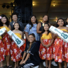Keiki performers earn 7 ukulele for Palisades Elementary students! PHOTO BY KAWI