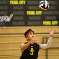 Mililani sweeps Pearl City 2-0 in OIA West Boys Volleyball (4.2.19)