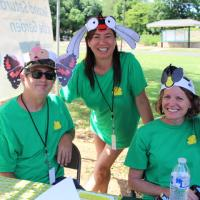 Bees and Butterflies featured at Second Saturday at the Garden (6/9/2018)