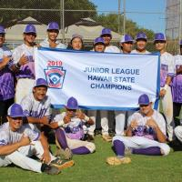 .Pearl City wins 2019 Junior League Hawaii State Baseball Championship (7.15.19)