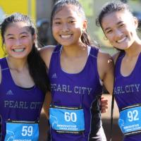 Pearl City Lady Chargers compete at 2017 OIA Girls JV XC Championships (10/14/20