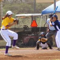 Photo of Pearl City 25-0 victory over West Oahu in District 7 Majors Tourney