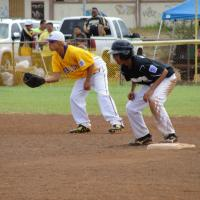 Photo of Waipio vs. Pearl City in 2010 District 7 Majors  LL Tourney