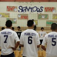 Pearl City sweeps Waianae  26-24, 25-19 in OIA Boys Volleyball on Senior Night