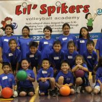 Lil' Spikers Volleyball Academy (ages 8-10) at Pearl City High School (7/10/11)