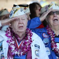 69th Anniversary of Pearl Harbor Attack / Dedication of New Pearl Harbor Visitor