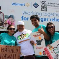 """22nd Annual Food Drive  """"Banks"""" at Pearl City Shopping Center (4/16/11)"""